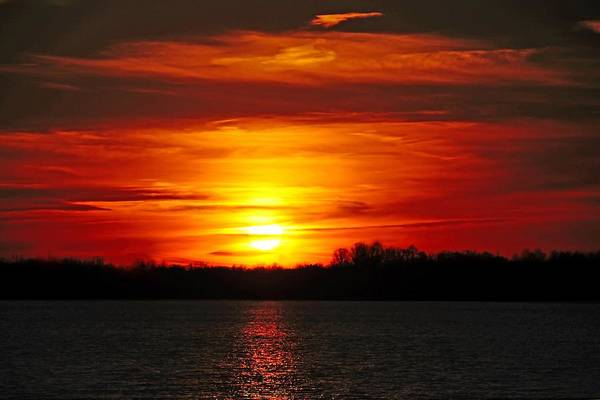 Photograph - Red Skies by Mike Murdock