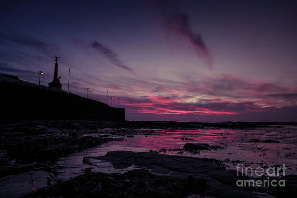 Photograph - Red Sky At Night 2 by Keith Morris