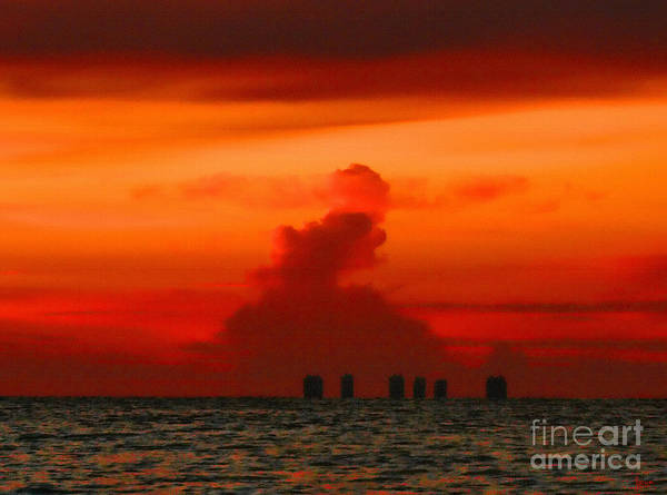 Photograph - Red Sky by Jeff Breiman