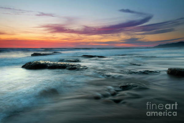Wall Art - Photograph - Red Sky Sunset by Mike Dawson
