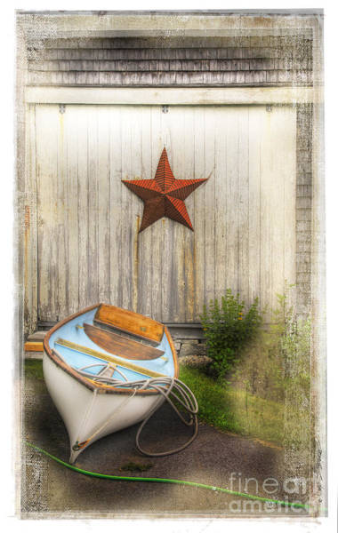 Photograph - Red Star Boat by Craig J Satterlee