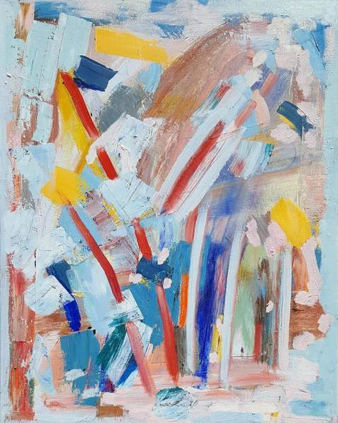 Painting - Red Sticks by Dave Martsolf