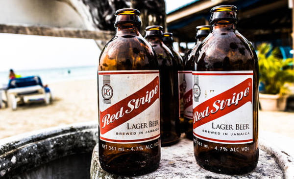 Photograph - Red Stripe by Mike Dunn