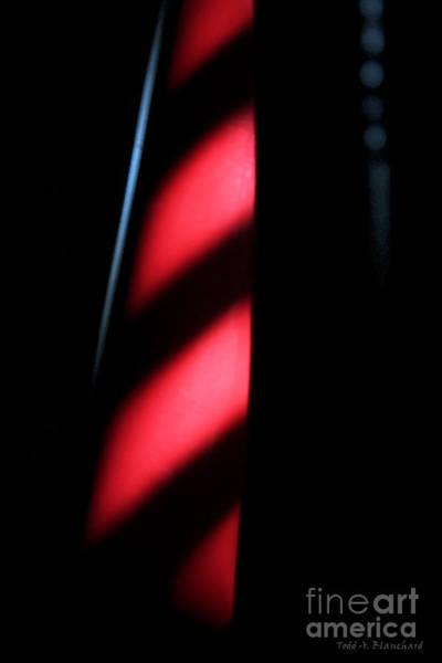 Digital Art - Red Stripes by Todd Blanchard