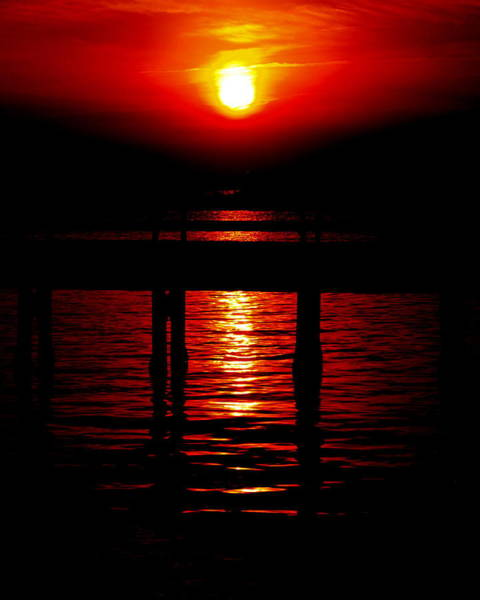 Photograph - Red Sunset by James Granberry