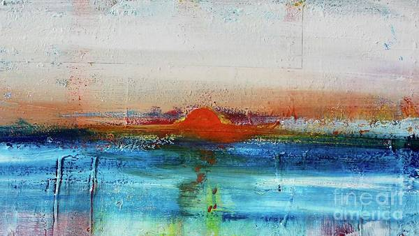Painting - Red Sunset by Kim Nelson