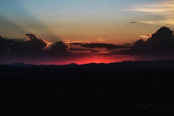 Photograph - Red Sunset by Mike Dunn