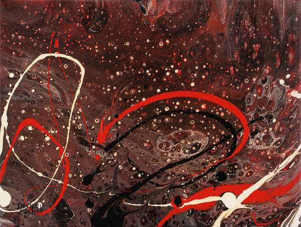 Painting - Red Swirl  by Darice Machel McGuire
