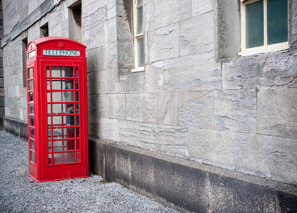 Photograph - Red Telephone Box by Helen Northcott