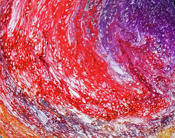 Wall Art - Painting - Red Tide by Darrell Mcgahhey