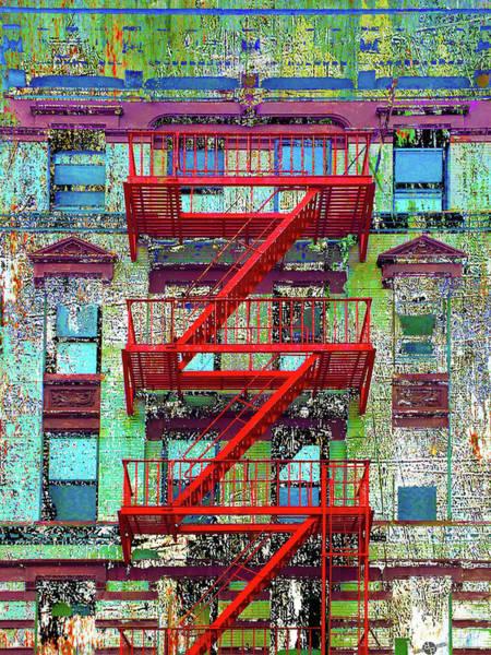 Front Mixed Media - Red by Tony Rubino