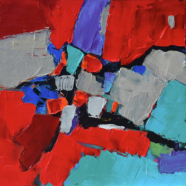 Painting - Red Variation by Elise Palmigiani