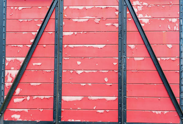 Photograph - Red Wagon II by Helen Northcott