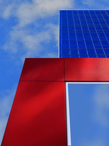 Photograph - Red White And 2 Shades Of Blue by Paul Wear