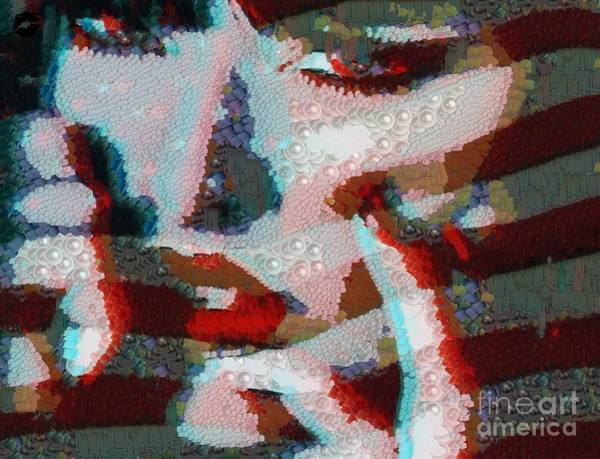 Painting - Red White And Blue by Catherine Lott
