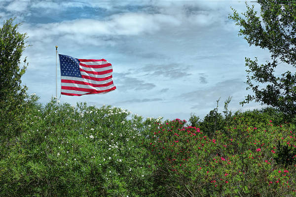 Photograph - Red, White And Blue by John M Bailey