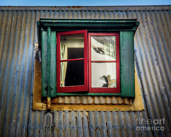 Wall Art - Photograph - Red Windows by Perry Webster