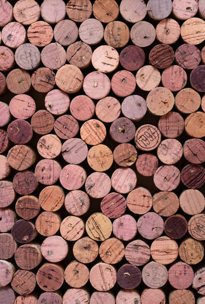 Wall Art - Photograph - Red Wine Corks 169 by Frank Tschakert
