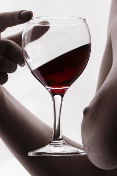 Wall Art - Photograph - Red Wine  by Floriana Barbu
