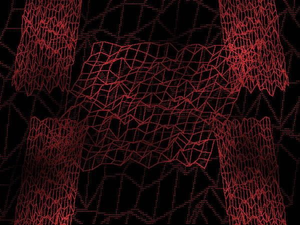 Wall Art - Digital Art - Red.99 by Gareth Lewis