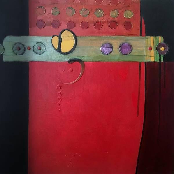 Painting - Redder Please by Marlene Burns