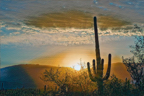 Photograph - Reddington Ridge Sunrise Remix by Dan McManus