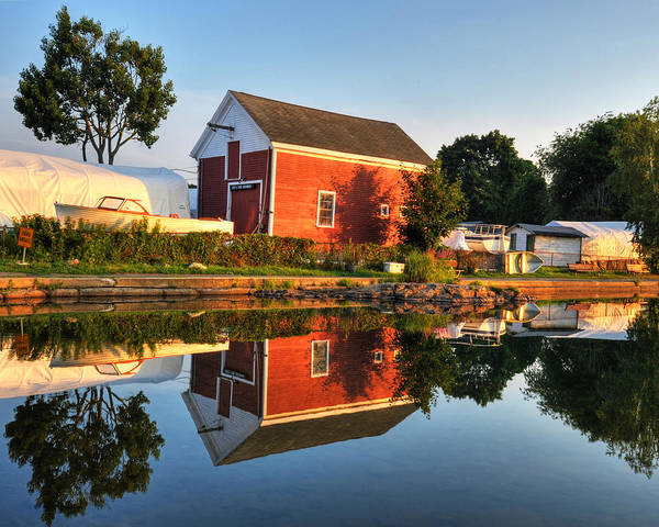 Photograph - Redd's Pond Boatworks by Toby McGuire
