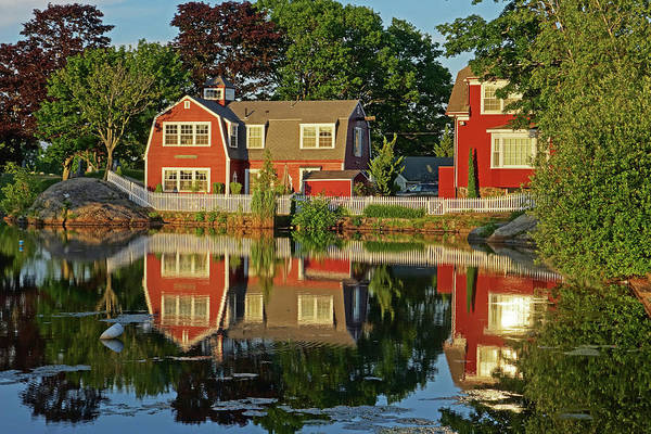 Photograph - Redds Pond Marblehead Ma Sunlight by Toby McGuire