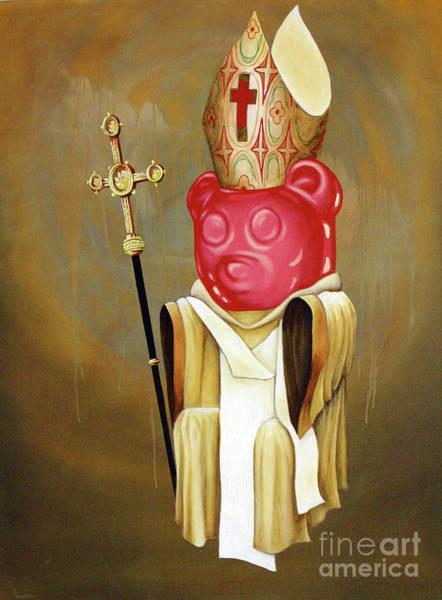 Gummy Bear Painting - Redeemer by Derek Smith