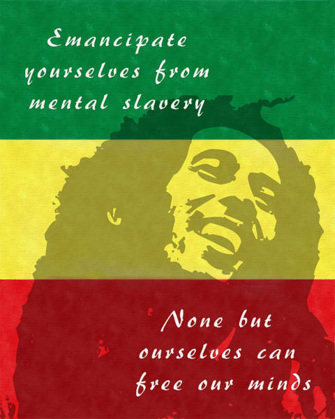 Redemption Song Free Our Minds Art Print