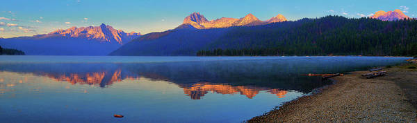 Photograph - Redfish Lake Dawn by Greg Norrell