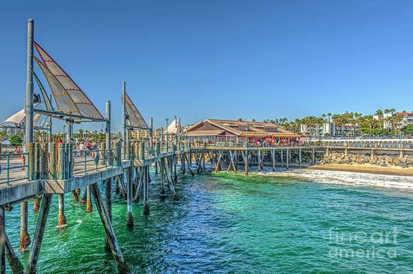 Roller Blades Photograph - Redondo Beach Pier by David Zanzinger