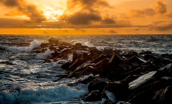Photograph - Redondo Beach Sunset by Ed Clark