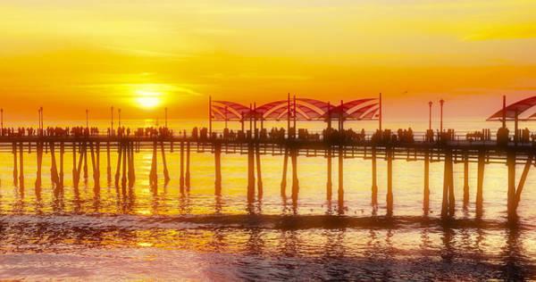 Photograph - Redondo Sunset by Michael Hope