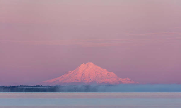 Mount Redoubt Photograph - Redoubt Volcano by Ray Bulson