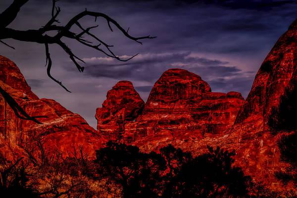 Photograph - Redscape by John M Bailey