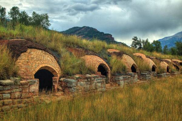 Photograph - Redstone Coke Ovens by Ryan Smith