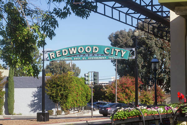 Photograph - Redwood City California by Mark Miller