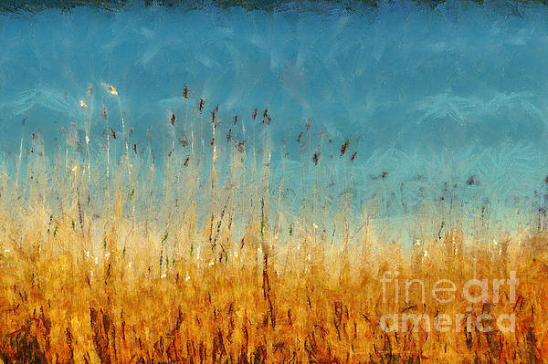 Painting - Reeds Lake Landscape Painting by Dimitar Hristov