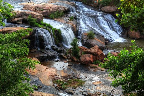 Photograph - Reedy River Falls Greenville South Carolina by Carol Montoya