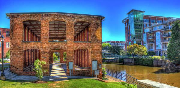 Photograph - Reedy River Mill Venue Greenville South Caroline Art by Reid Callaway