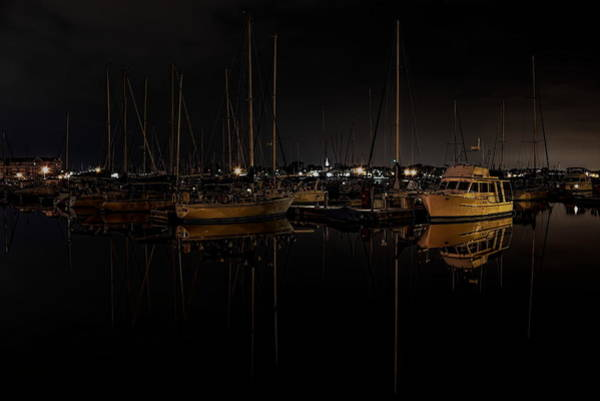 Photograph - Reefpoint Marina After Dark by Dale Kauzlaric