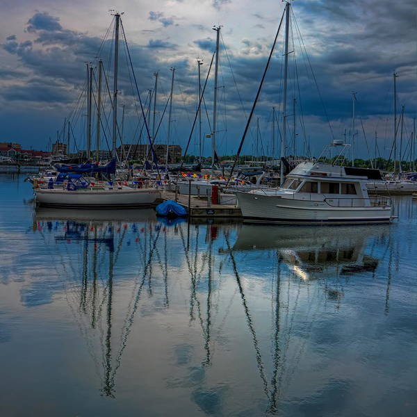 Photograph - Reefpoint Marina Square Format by Dale Kauzlaric
