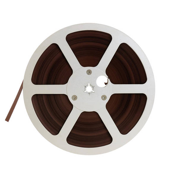 Photograph - Reel Of Audio Recording Tape by Jim Hughes
