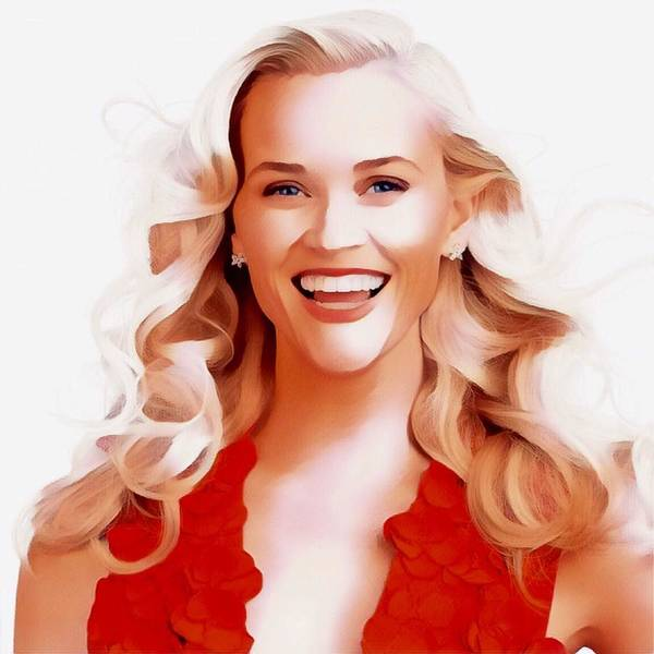 Ant Mixed Media - Reese Witherspoon by Ant Jones