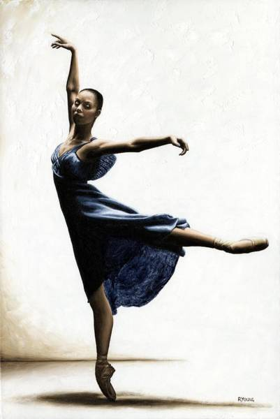 Dance Painting - Refined Grace by Richard Young