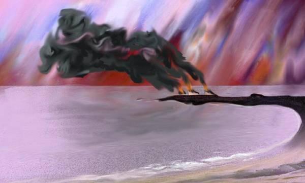 Digital Art - Refinery Fires by Tony Rodriguez