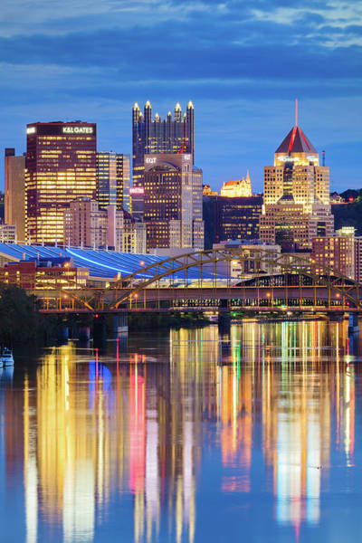 Wall Art - Photograph - Reflections In Allegheny  by Emmanuel Panagiotakis
