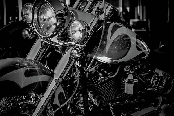 Photograph - Reflected Beauty Black And White 5836 Bw_2 by Steven Ward