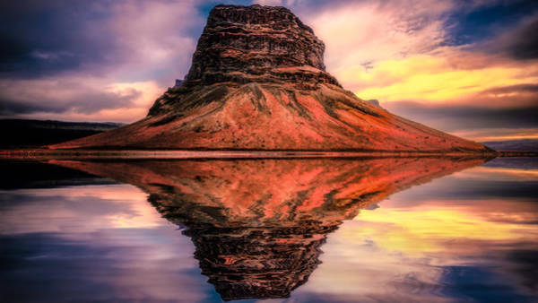 Photograph - Reflected Rock by James Billings